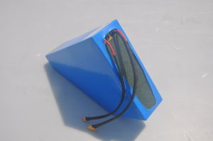 36V/48V/52V Triangle Battery Pack 14s7p 13s8p 10s9p Triangle Lithium Battery Li-ion Battery Power Supply Rechargeable Battery Power Battery Ebike Battery pictures & photos