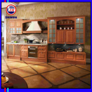 American Solid Wood Kitchen Cabinet (FY051) pictures & photos