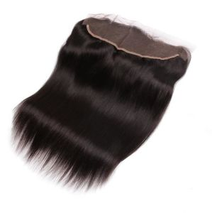 Free Shipping Unprocessed Virgin Hair Straight 13*4 Brazilian Hair Lace Frontal
