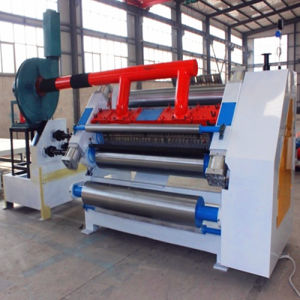 Single Layer Corrugated Paperboard Production Line pictures & photos