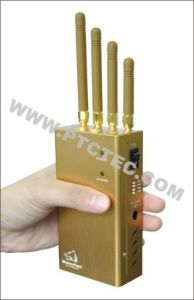 Powerful Handheld Signal Jammer Cellphone Jammer Mobile Jammer for GPS WiFi/4G/3G/2g pictures & photos