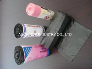 Hot Sale High Strength Big Cheap Waste Bag Plastic Garbage Bags on Rol pictures & photos