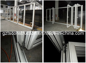 Excellent Heat Insulation 60series Aluminum Thermal Break Bi Fold Door pictures & photos