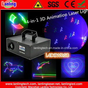 4-in-1 1W RGB Laser DJ Lighting pictures & photos