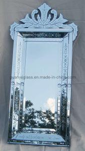 Venetian Design Dressing Wall Mirror (GJ002-silver)