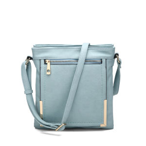 Mint Fresh Style Metal Detail Front Women Crossbody Bags (MBNO040010) pictures & photos