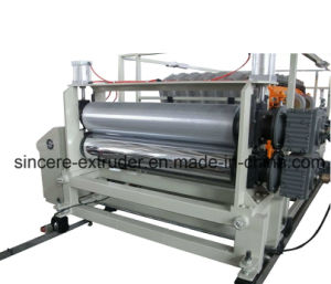 PVC Trapezoid Roofing Tile Machine Glazed Tile Extrusion Machinery 880mm 1050mm pictures & photos