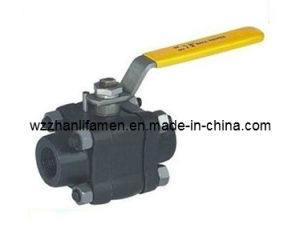 Forged Steel 3-PC Ball Valve (Q41H) pictures & photos