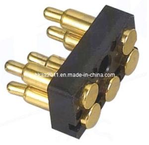 Brass Spring Pogo Pin Battery Connector, 6 Pin Connector Pogo Pin pictures & photos