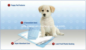 Quick-Dry Super Absorbent Disposable Pet Urine Pad pictures & photos