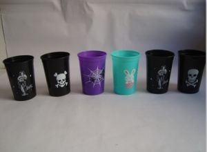 Colourful Plastic Single Wall Reusable Beer Cups pictures & photos