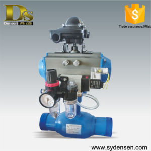 Gas Oil Pipeline Use Pneumatic Ball Valve Dn50 pictures & photos