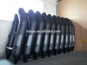 Liya 6m PVC Portable Boat Inflatable Yatch Boat for Sale pictures & photos