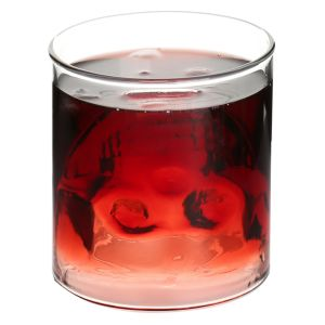 200ml Double Wall Skull Shot Glass Wine Glass pictures & photos