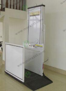 300kg 4m Vertical Portable Wheelchair Lift Platform pictures & photos