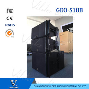 Geos18b Professional Bass Single 18′′ Woofer Line Array Sub Woofer pictures & photos