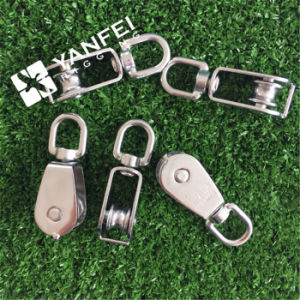 Stainless Steel 304/316 Single Wheel Swivel Block for Lifting pictures & photos
