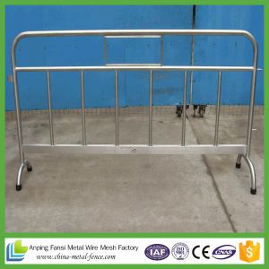 Metal Used Crowd Control Barriers, Pedestrian Barricades pictures & photos