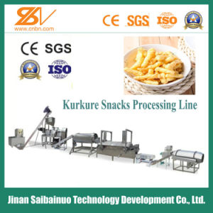 Ce Standard Full Automatic Corn Snacks Kurkure Processing Line pictures & photos
