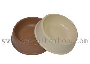 Biodegradable Bamboo Fiber Pet Supply Bowl (BC-PE6003) pictures & photos