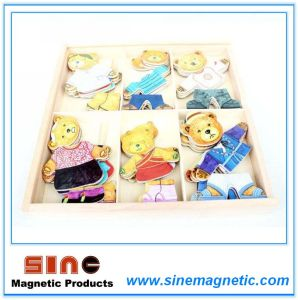 Magnetic Dressing Bear Toy/Change Clothes Toy/Children′s Educational Toys pictures & photos