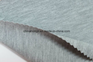 R/N/Sp 57/35/8, 240GSM, Melange Ponte-Roma Knitting Fabric pictures & photos