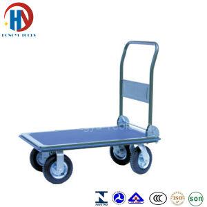 Plastic Hand Trolley Platform Hand Truck pictures & photos