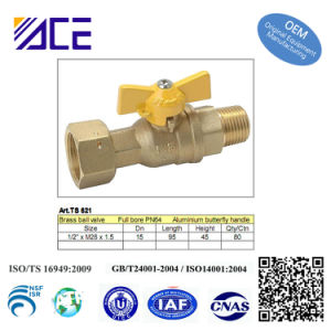 Pneumatic Ball Valve Brass Ball Valve pictures & photos