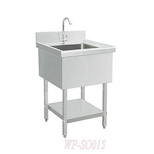 Stainless Steel Single Sink with /Without Under Shelf pictures & photos