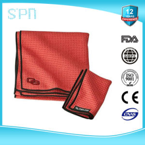 Zipper Pocket Sport Microfiber Sport Golf Cleaning Towels pictures & photos