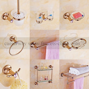 Rose Golden Bathroom Accessories pictures & photos