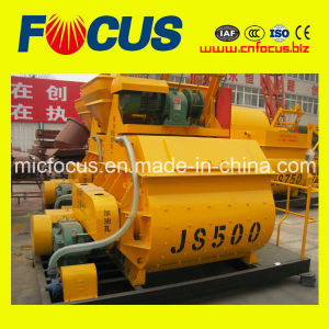 Js500, Js750 Js1000 Twin Shaft Concrete Mixer pictures & photos