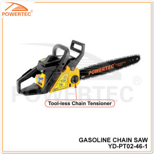 Powertec 46cc 2.0kw Gasoline Chain Saw (YD-PT02-46) pictures & photos