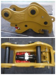 Double Lock Quick Coupler for Excavator pictures & photos