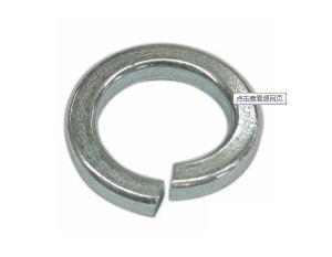 DIN127 Spring Washers with Zinc Finished Carbon Steel