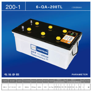 Lead Acid with Mf Battery Dry Charged Battery JIS100 pictures & photos