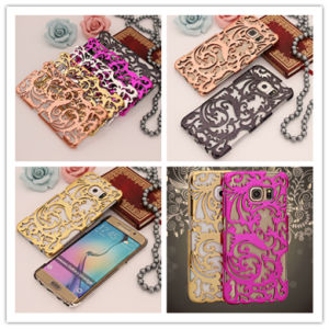 Hollow & Heat Dissipation Ultra Luxury Fashion Protective Phone Cases for Samsung Galaxy S6 Cover pictures & photos