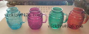 Green Glass Bottle for Oil 150ml, Colored Glass Oil Bottle pictures & photos