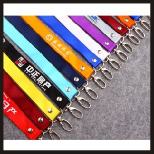 Customized Logo Polyester Lanyard pictures & photos