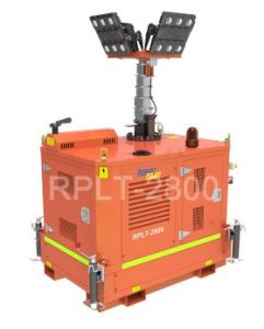 Kubota Engine Liquid Cooled Diesel Generator Lighting Towe pictures & photos