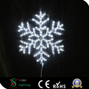 2D Snowflake Decoration Motif Light LED Street Light pictures & photos