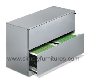 Larteral File Cabinet Gray with Side Pull Handle (SI6-LCF2G) pictures & photos
