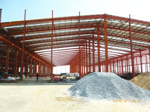 Steel Structure Galvanized Workshop with Ce Certification (KXD-SSB1241) pictures & photos