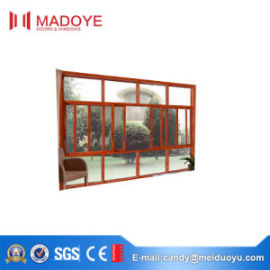China Manufacture Sliding Window with Mesh Used for Courtyard pictures & photos