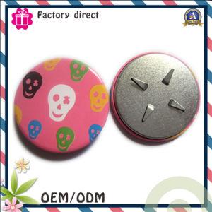 Custom Hot Promotional Metal Pin Button Handbag Badge pictures & photos