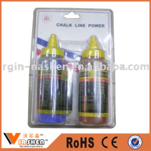 Factory Hot Sales Colored Chalk Line Powder Chalk Marking Powder pictures & photos
