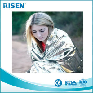 Good Quality Emergency Blanket Aluminum Foil Blanket pictures & photos