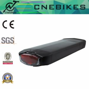 36V 13ah Rear Rack Type Electric Bike Lithium Battery pictures & photos