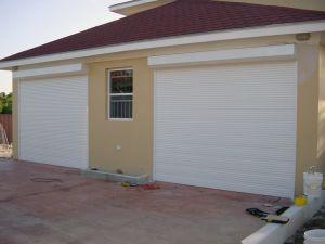 Aluminum Wind Resistant Good Quality Bullet Proof Vertical Rolling Shutter Garage Door pictures & photos