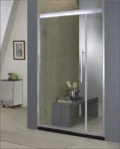 Bathroom 8mm Glass Single/Double Sliding Door Shower Enclosure (BA930) pictures & photos